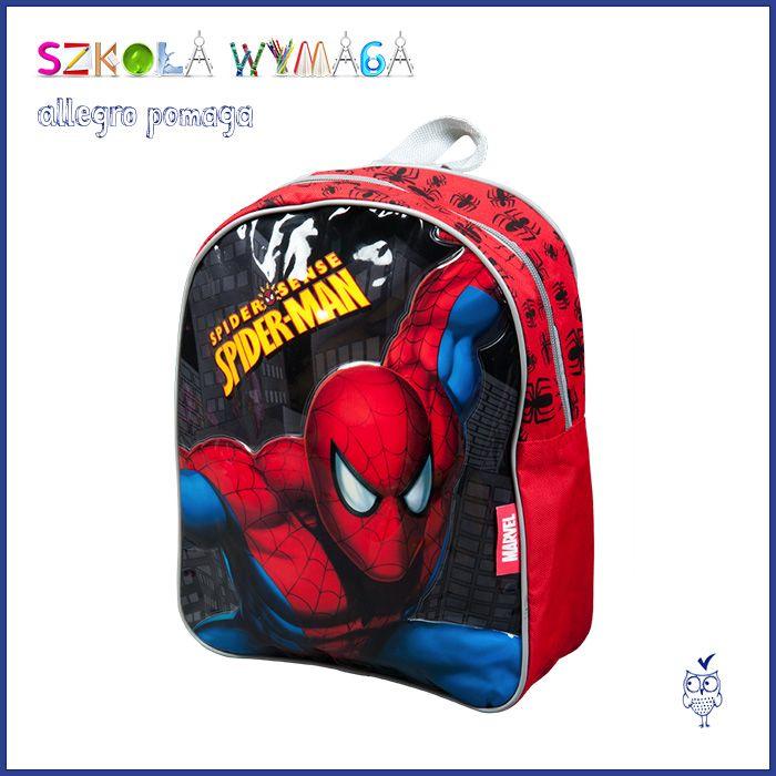 Plecaki Spide Rman Spiderman Bags Backpacks