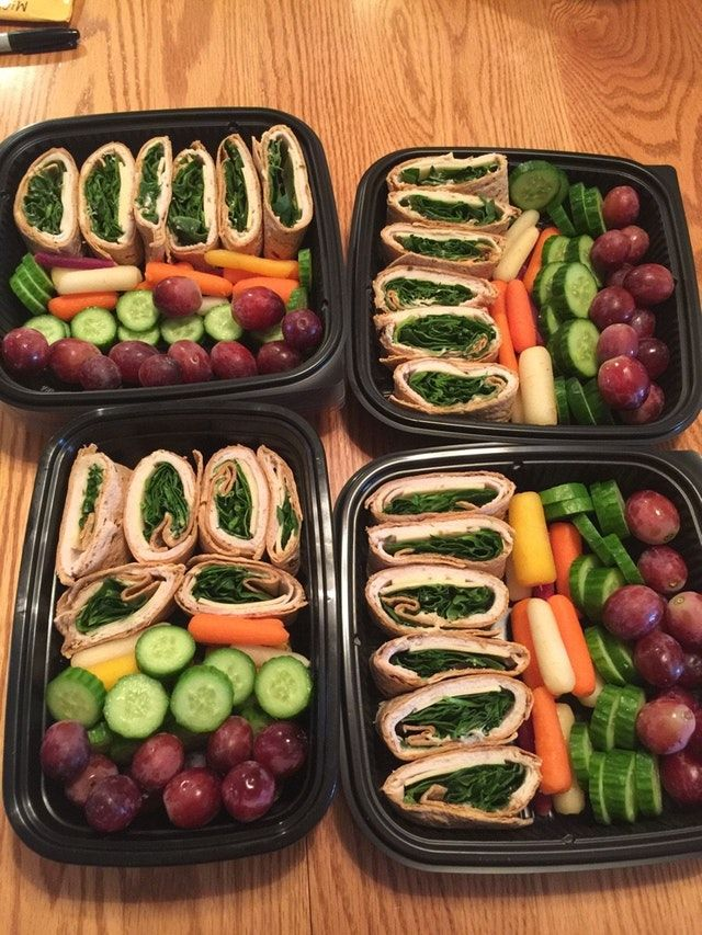 Reddit - MealPrepSunday - Quick and easy lunch prep