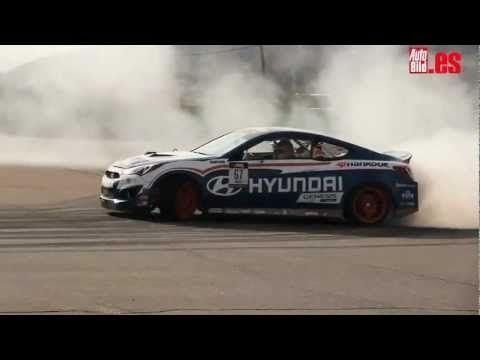 Drift con un Hyundai Genesis Coupe preparado - Autobild.es #Hyundai #Genesis #GenesisCoupe #Rvinyl #NewThinkingNewPossibilities