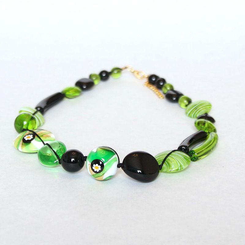 Italian Murano glass bead jewelry