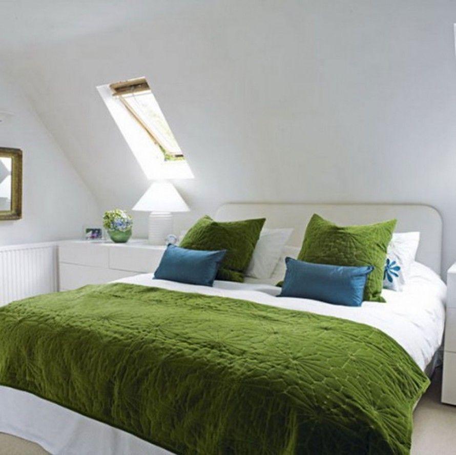 Exceptional Coole Dekoration Schlafzimmer Design Farben #12: Coole Kleine Innen Schlafzimmer Deko-Ideen: Grüne Farbe Jugendlich Jungen Schlafzimmer  Deko Ideen Mit