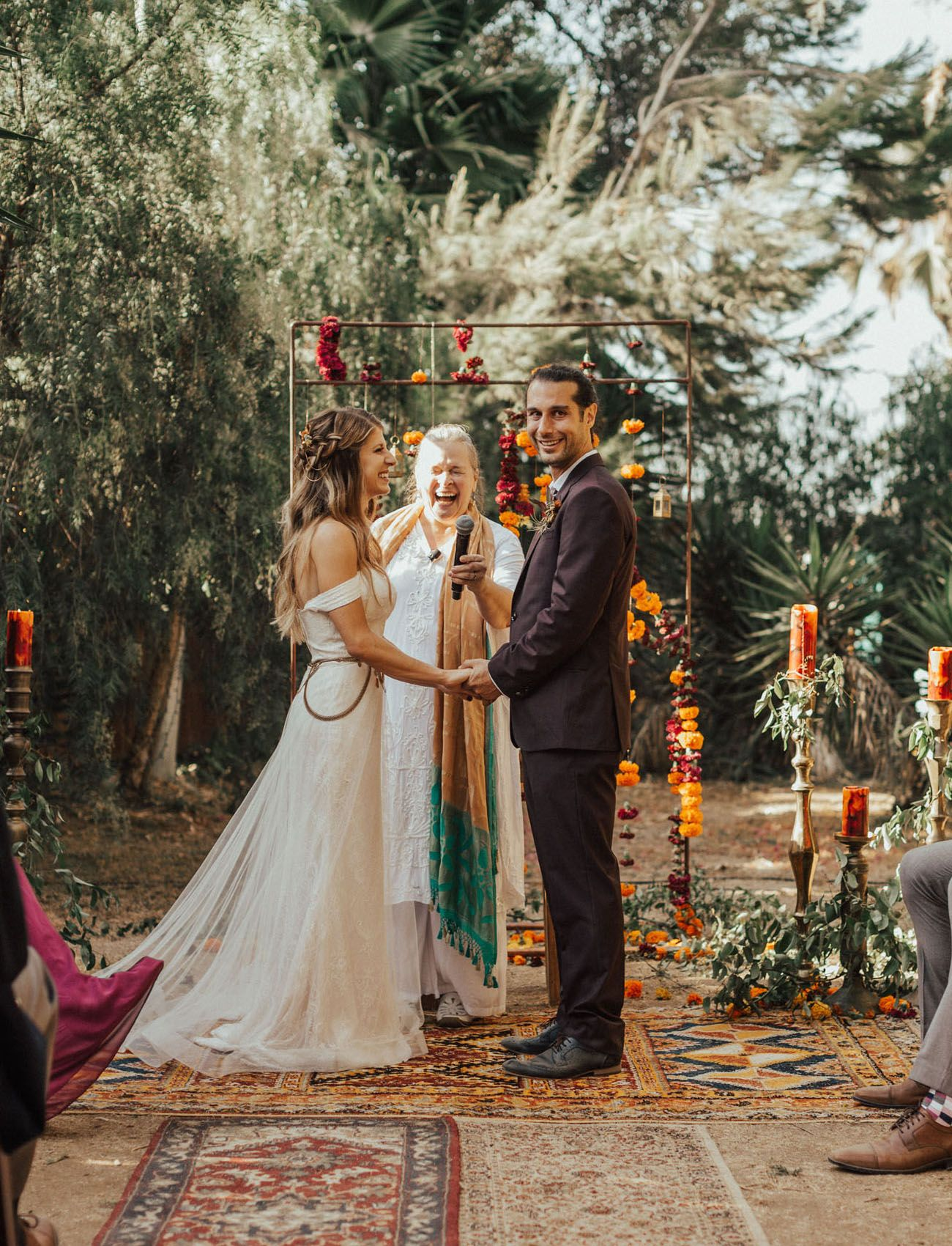 Majestic Burning Man Meets India Inspired Wedding Indian