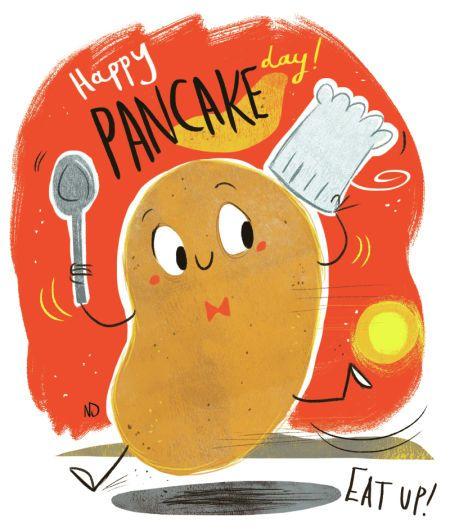 Nikki Dyson - Pancake Day