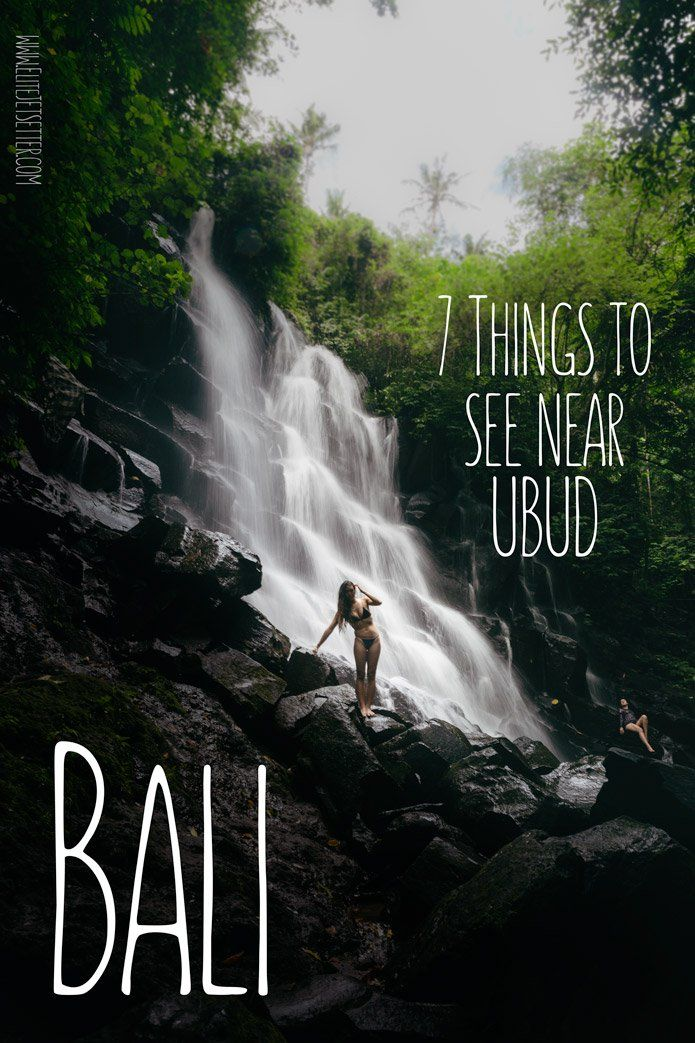 Forget about the Volcano! Here's what you're missing out on if you don't visit Bali! Check out 7 incredible things to see near Ubud. If it's waterfalls you're looking for, Ubud has them in abundance. If you're worried about the Volcano, don't be! There are loads of things to see that are miles and miles from Mt. Agung. Check out our post to find out more! via @elitejetsetters