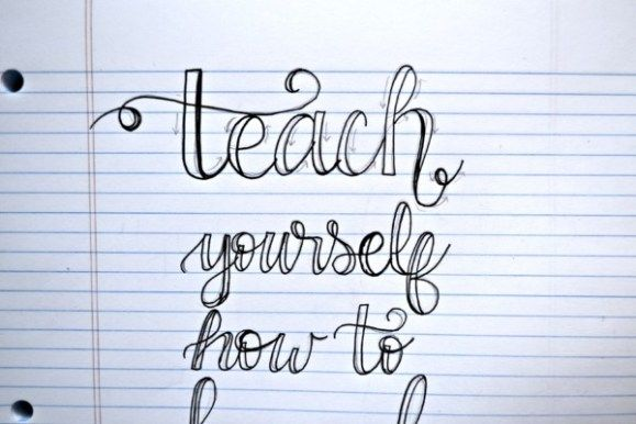 Teach Yourself How to Hand Letter