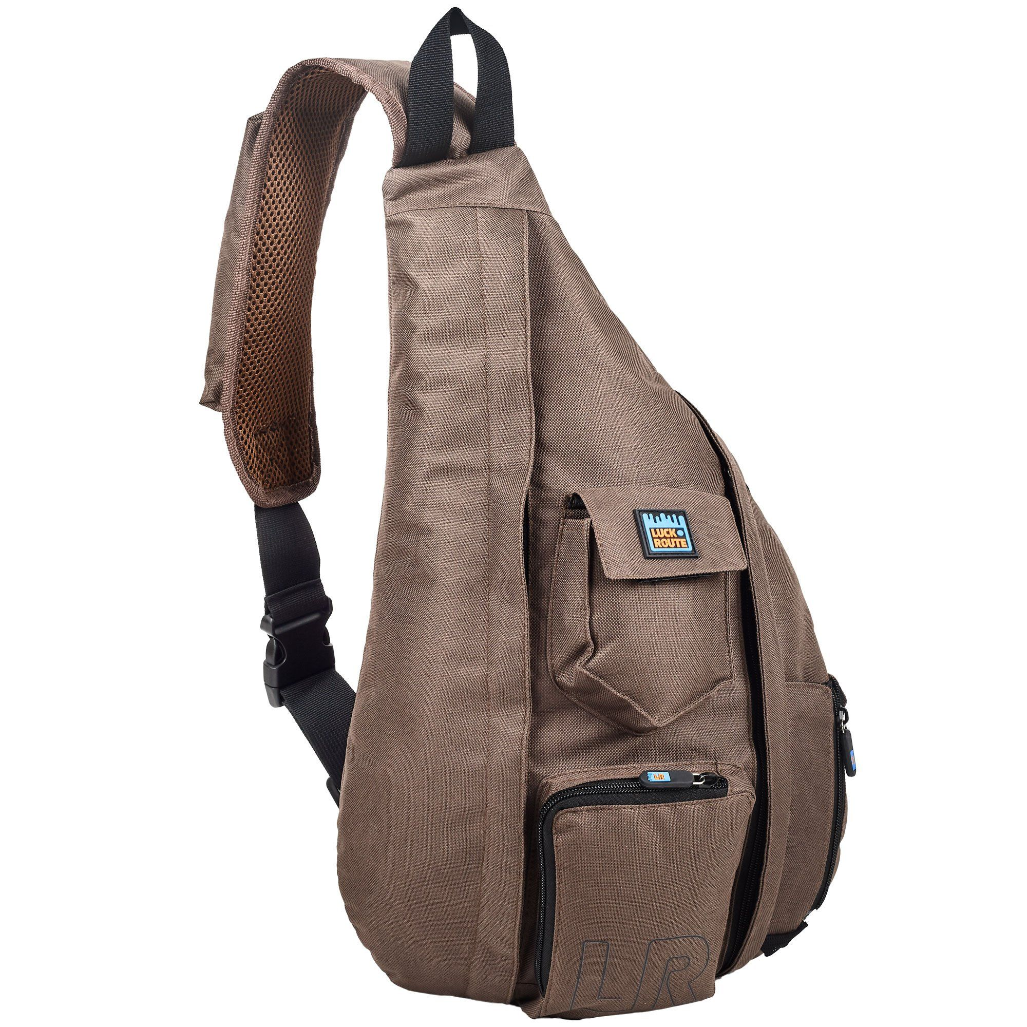 12fbcecea8cc Sling Bag Crossbody   Over Shoulder - Spacious Sling Pack – Women   Men  Compact Sling