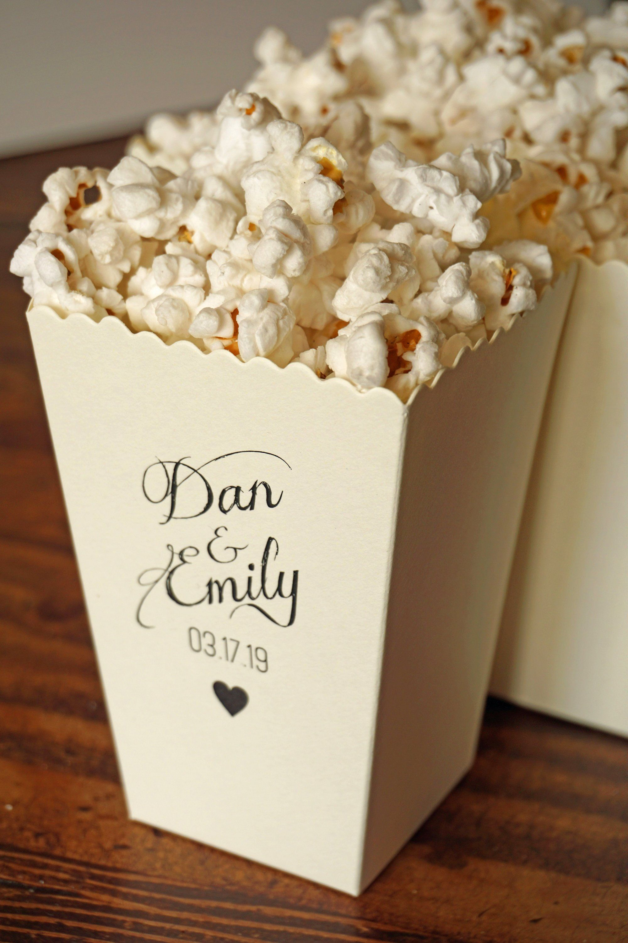 Packaging Designs for Popcorn Boxes: