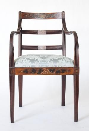 Federalist Arm Chair C. 1790