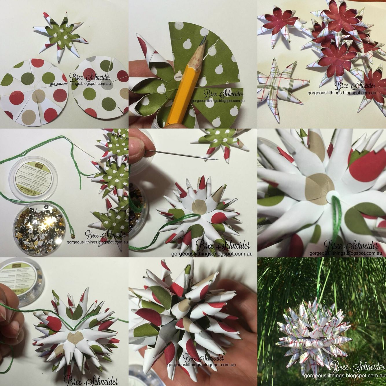 Diy Polish Star Ornament: Step By Step DIY Polish Star Christmas Ornaments