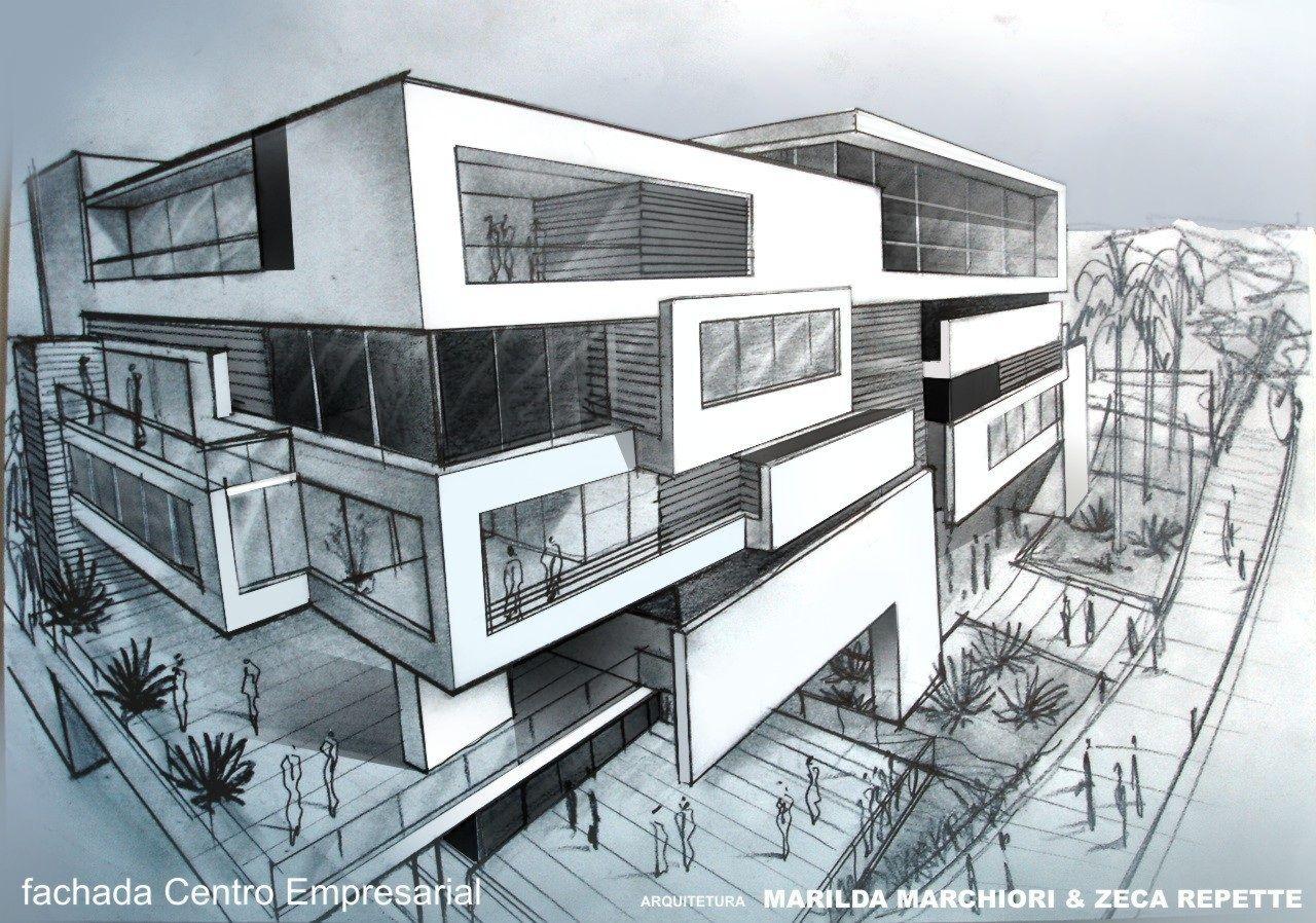 Project by Zeca Repette + Marilda Marciori Architecture Studio  in Londrina - Brazil  Executive Center