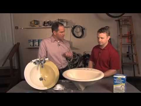 for the blue sinks? Homax® Tough as Tile™ Tub and Sink Refinishing ...