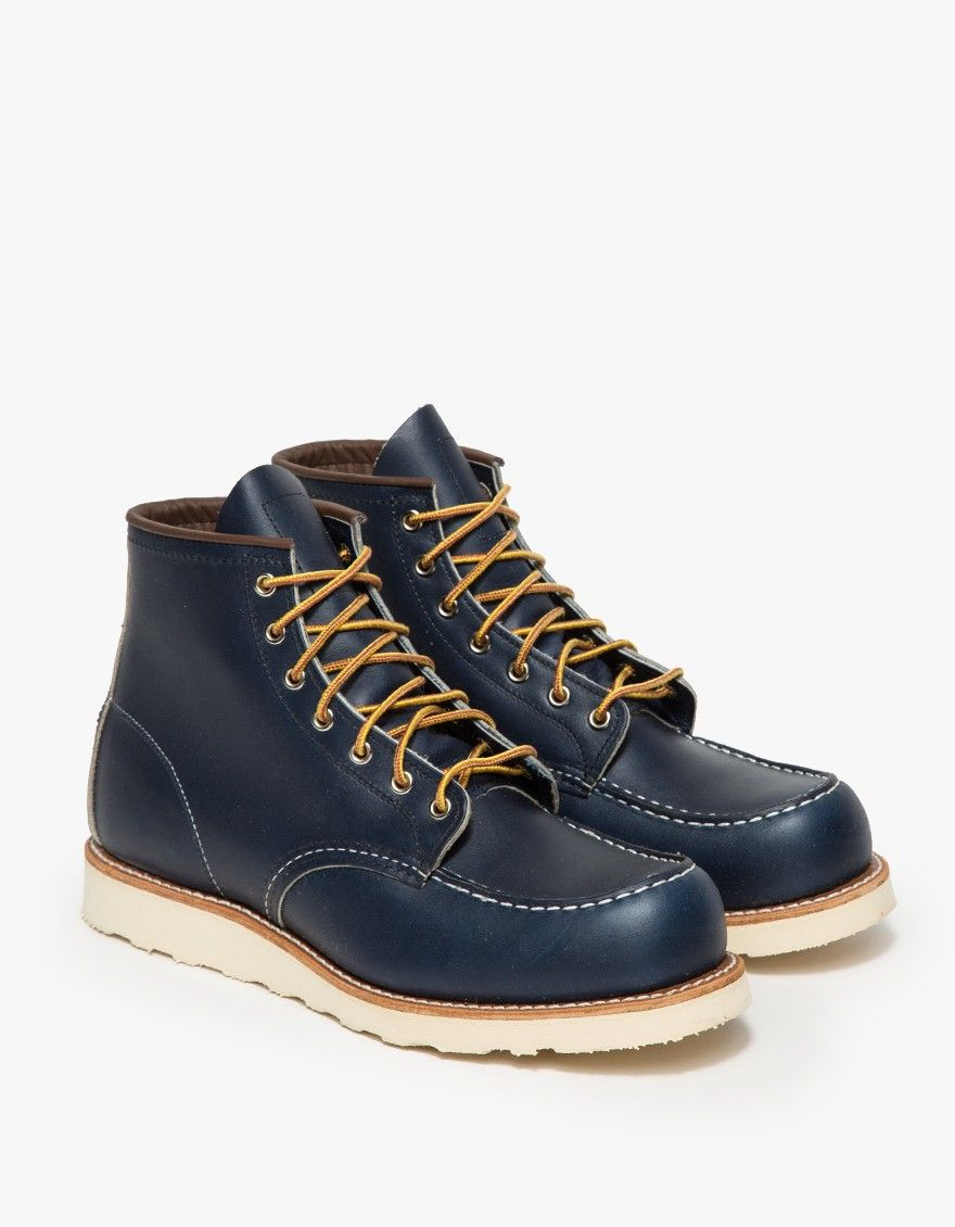 351e9b2d Red wing 8882 Mock-Stitched Leather Boots in Blue for Men (indigo)