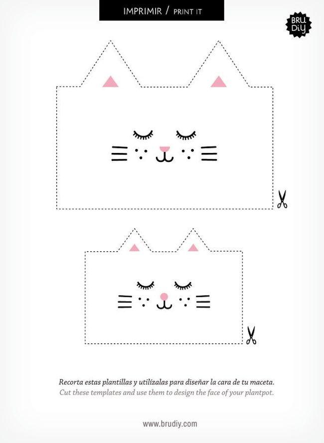 Maceta con forma de gato reciclando botellas plásticas 3 | Ideas de ...
