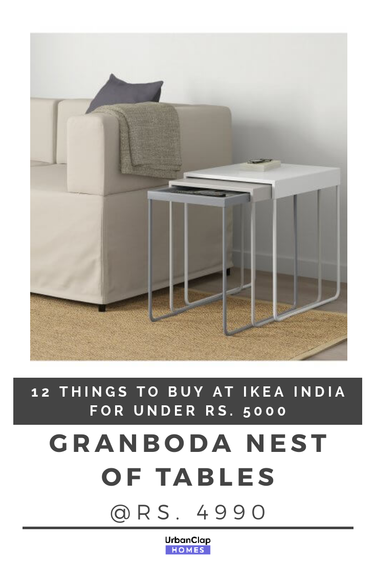 Made Of Powder Coated Steel The Granboda Is A Set Of Three Tables That Go With Any Interior Style Or Decor Yo Home Furniture Cheap Furniture Stores Furniture [ 1102 x 735 Pixel ]