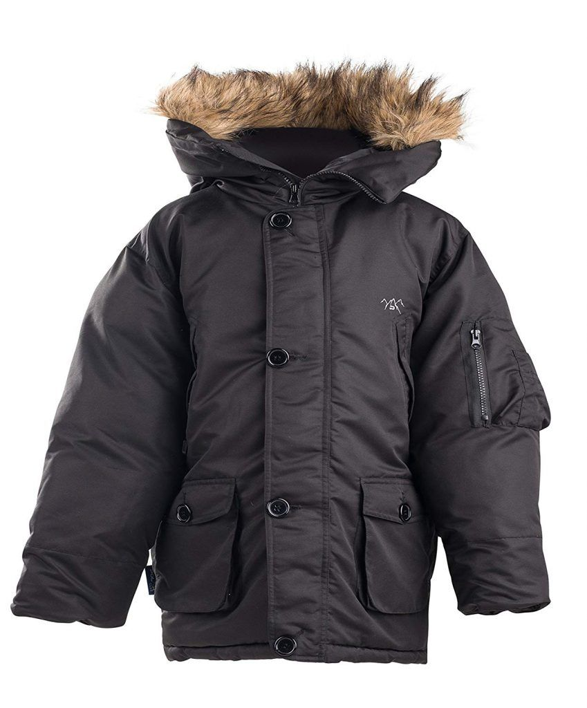 1f449cee9 The Polar Club Boys  Canada Parka Winter Coat W Removable Fur ...