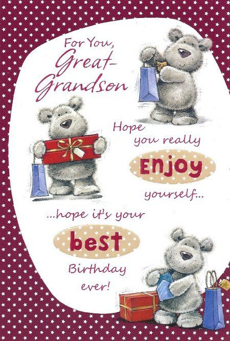 Wishes Great Happy Birthday Grandson