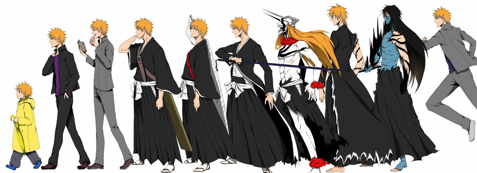 Here is the summary of Bleach chapter 523: Ichigo and Renji