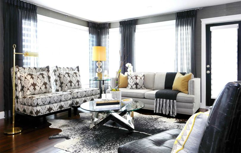 17 Best Images About Gold & Gray Living Room On Pinterest   Living