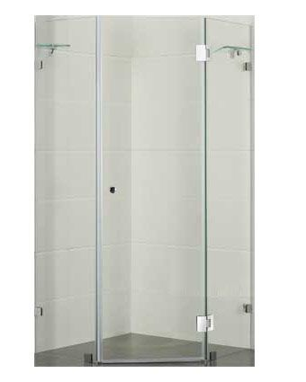 Diamond Shaped Frameless Shower Screen 1100 X 1100 X 1950 Shower Screen Frameless Shower Corner Shower
