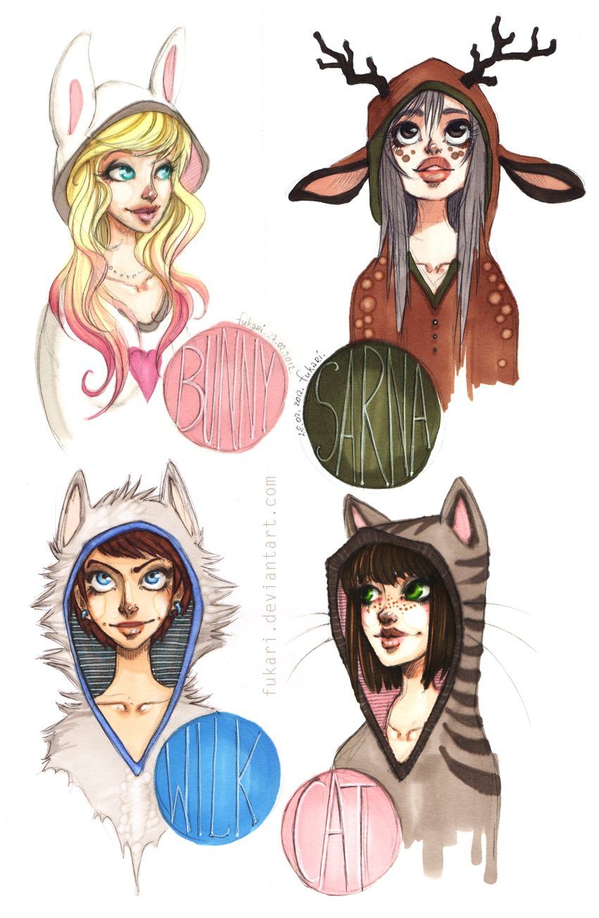 hoodies by Furry art, Character