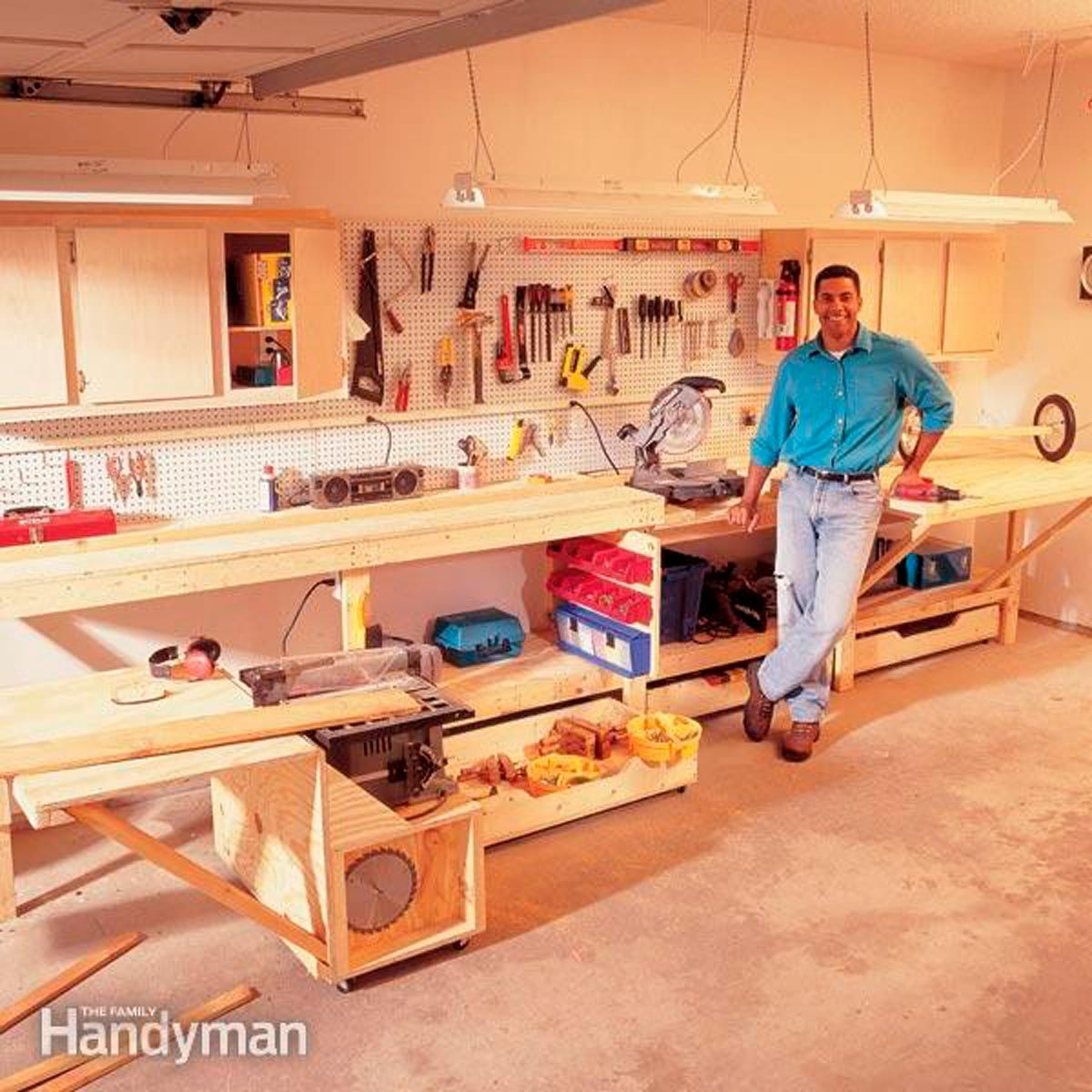modular workbench workbench plans diy workbench on cool diy garage organization ideas 7 measure guide on garage organization id=40018