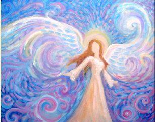 Original Vibrant Acrylic Painting Healing Energy by BrydenArt, $135.00