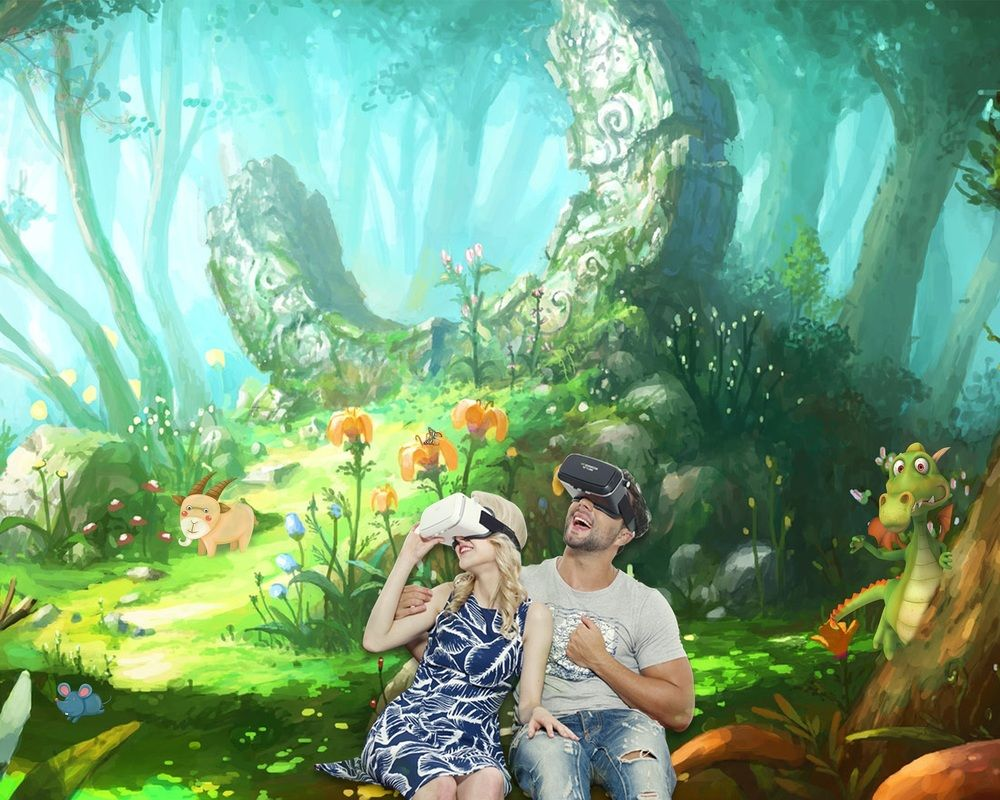 Virtual Reality Relaxation Casque Realite Virtuelle Realite
