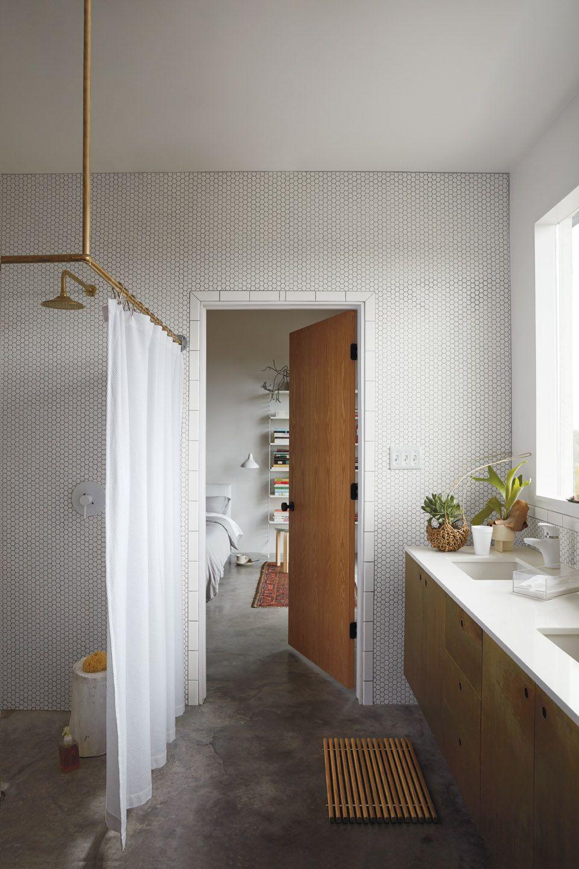 dwr honeycomb shower curtain design