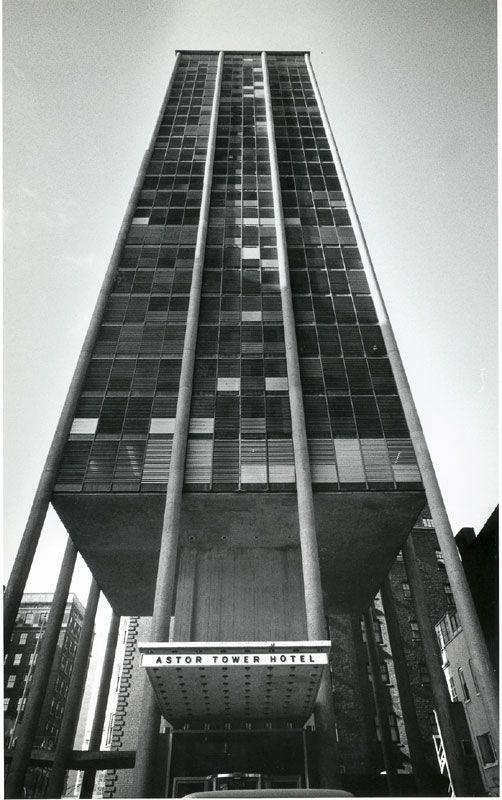Bertrand Goldberg - Astor Tower (Orlando R. Cabanan photo)