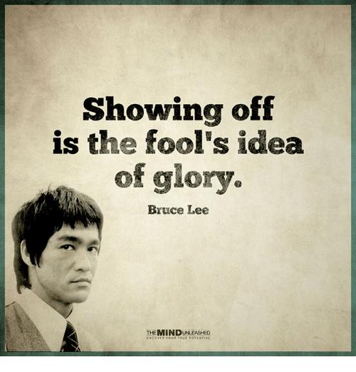 Via Me Me Memes The Fool Bruce Lee