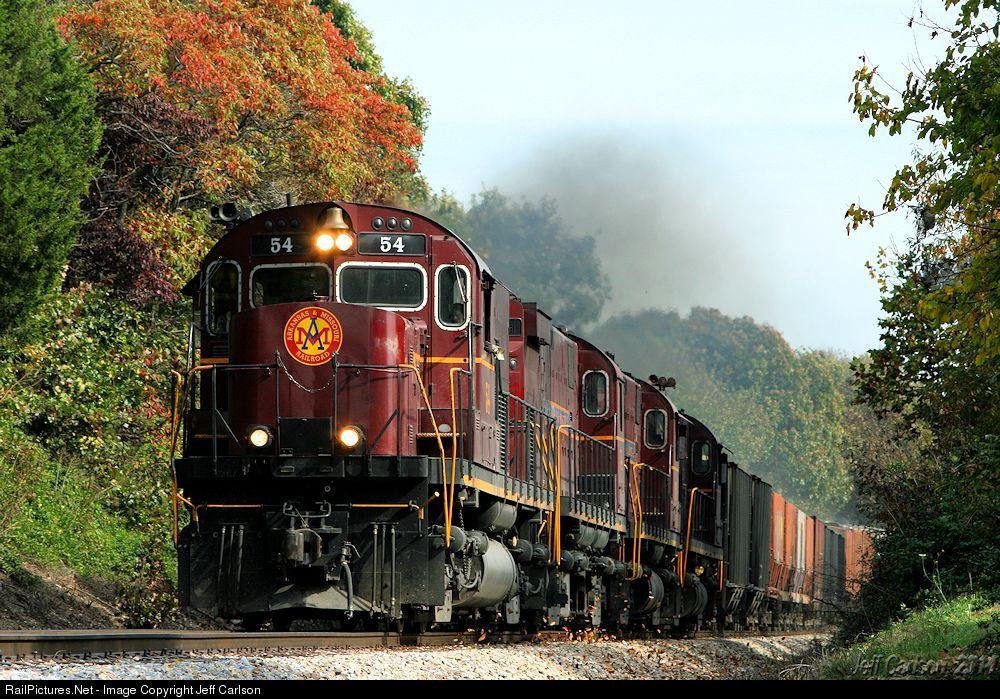 RailPictures.Net Photo: 54 Arkansas & Missouri Railroad Alco C420 at Seligman, Missouri by Jeff Carlson