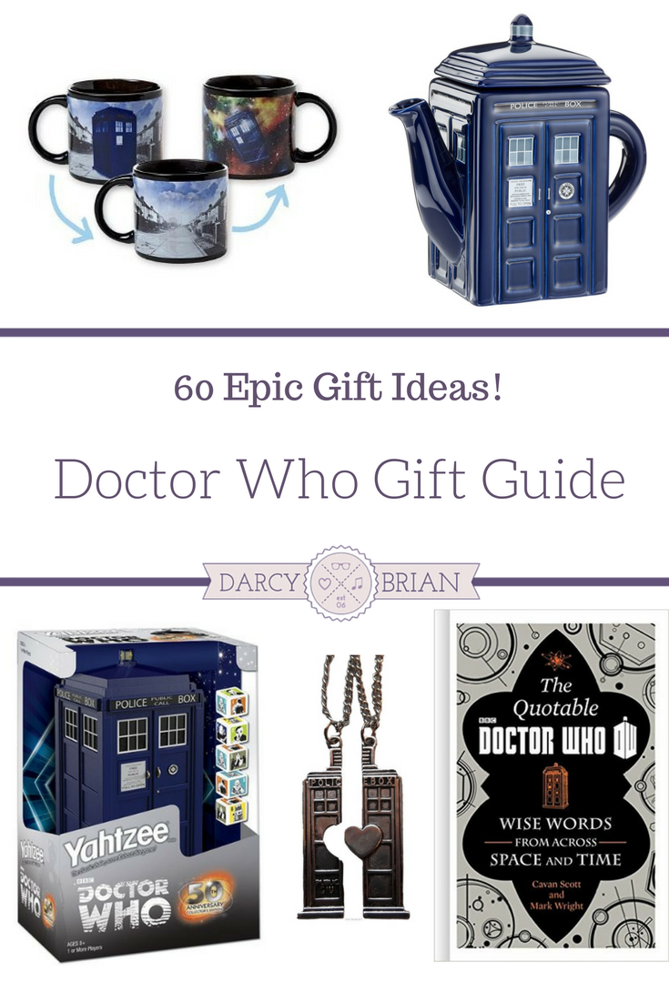 60 Epic Doctor Who Gifts For Whovians - Doctor Who Gift ...