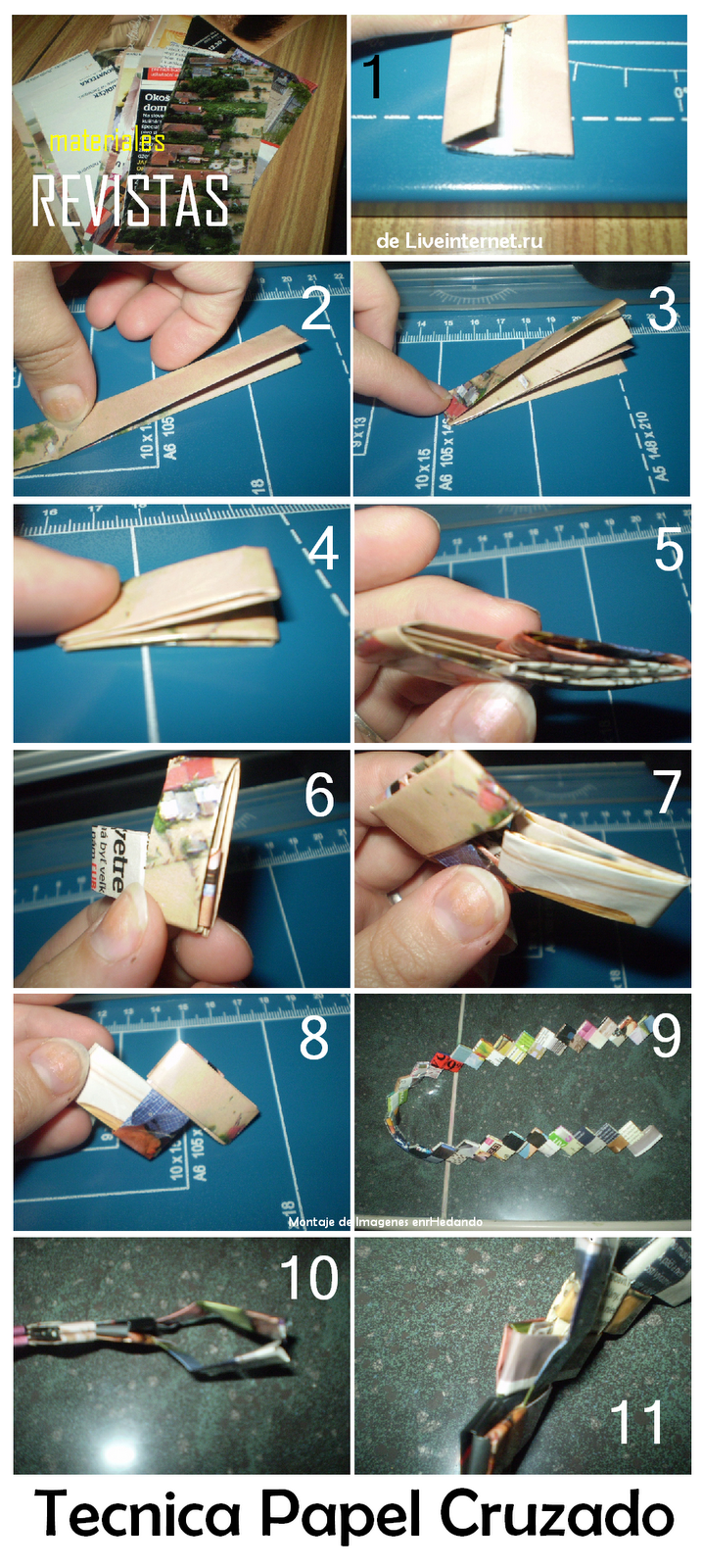 My sister taught me how to do this when I was a kid with gum wrappers....memories :)