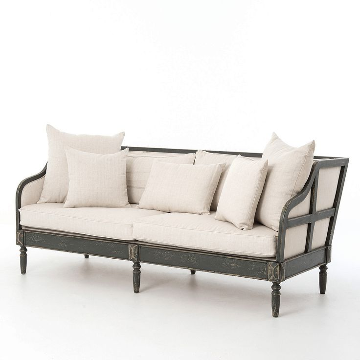 Image Result For Sofa With Exposed Wood Frame As Seen On