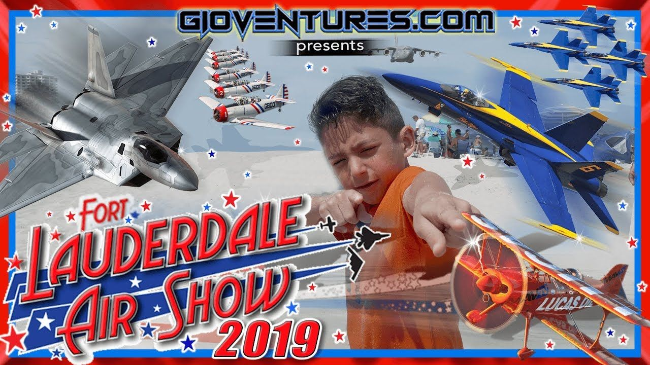 Fort Lauderdale Air Show 2019 Blue Angels on Fort