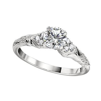 Vintage Style Engagement Rings Fl