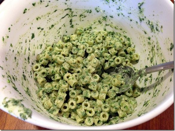 Healthy Toddler Meals: Easy Cheesy Spinach Pasta