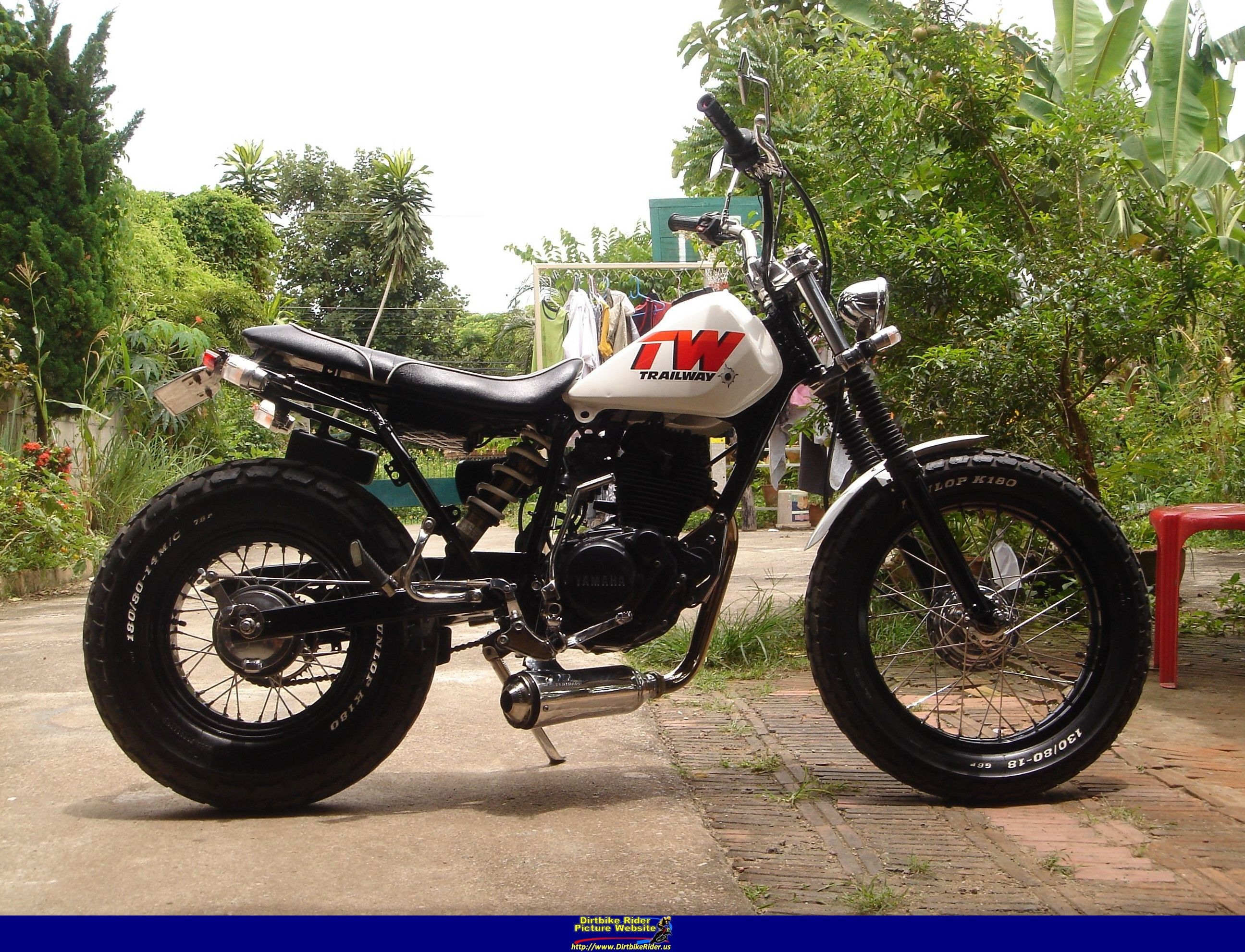Yamaha Tw200 Modified Yamaha Tw 200 - Photo ...