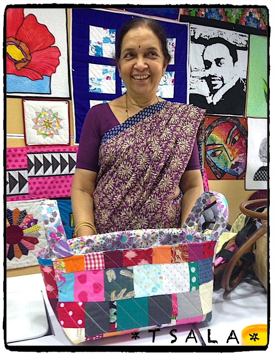 Hobby classes in bangalore at tsala quilting studio