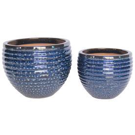 Product Image 1 Blue Planter Ceramic Planters Planters
