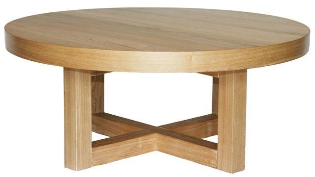 beachwood furniture hudson style round coffee table