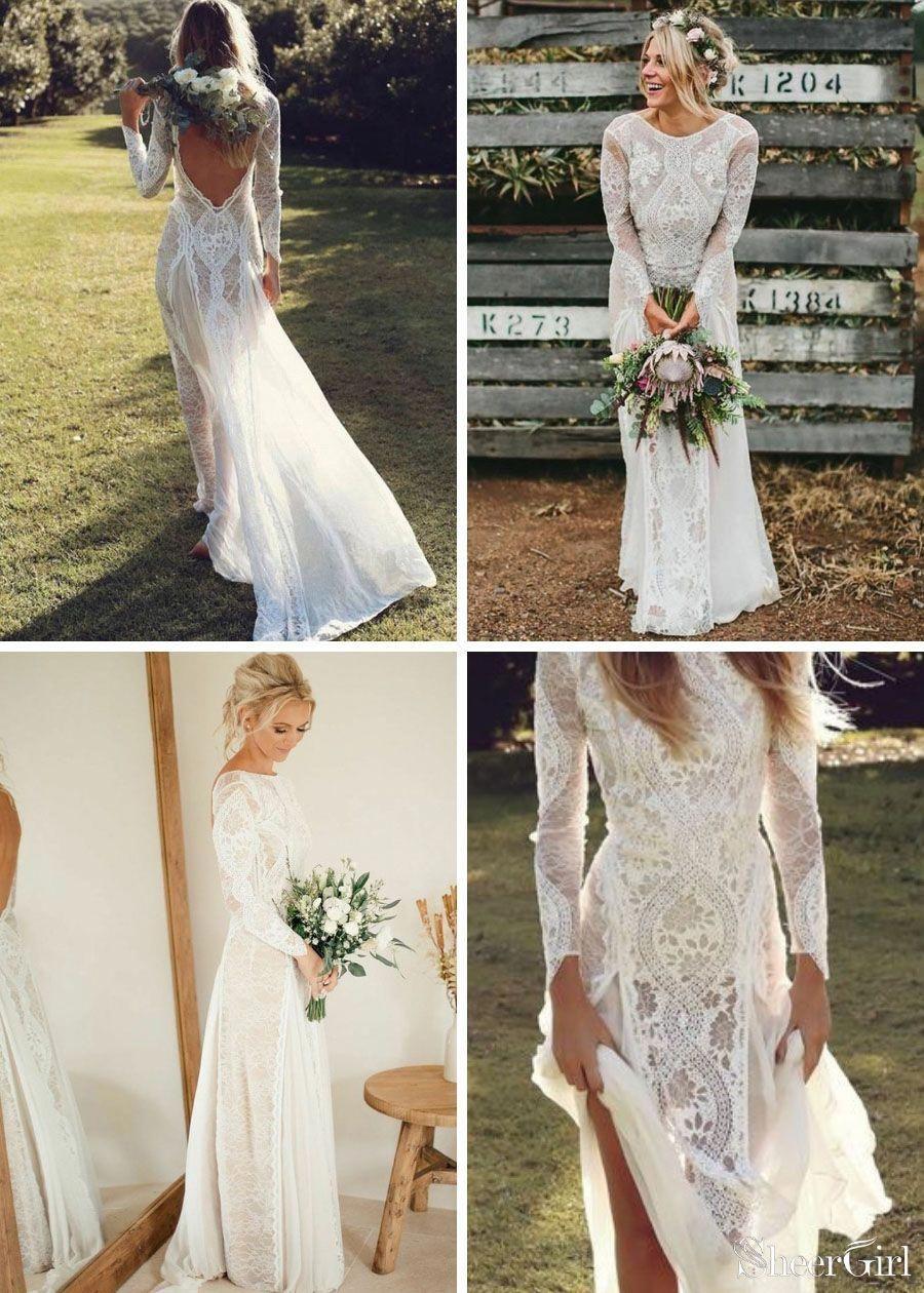 Top Selling Long Sleeve Lace Wedding Dresses Weddingdresses