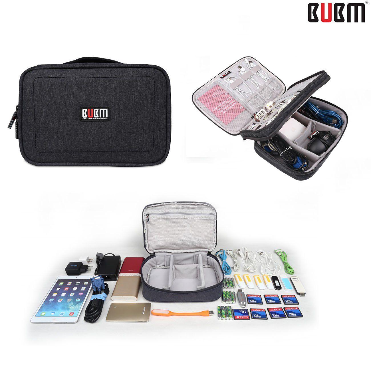 3PCS Travel Storage Cable USB Case Organizer Bag Electronic Accessories Cheap