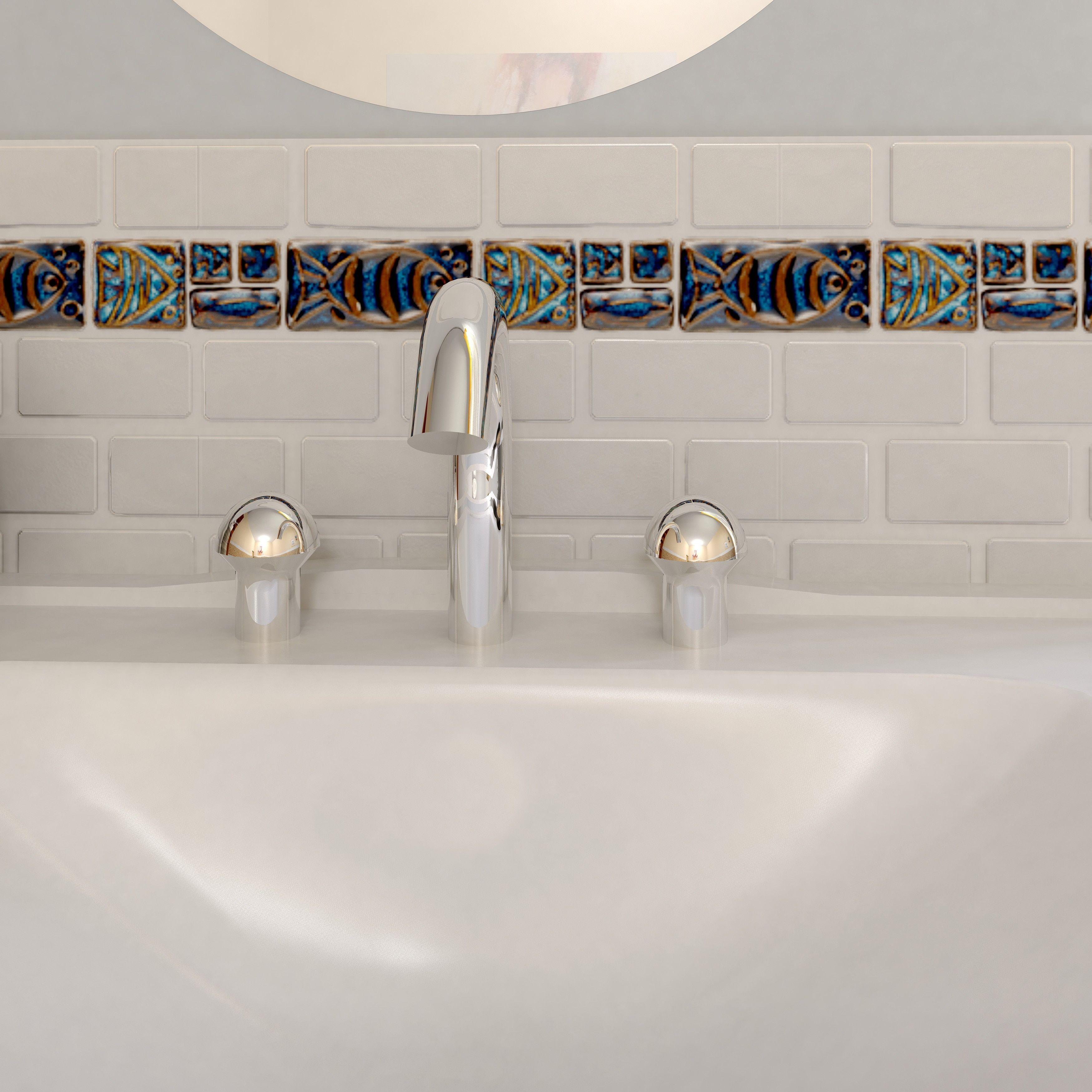 Interlock,Mosaic Tile,Shower Tile,Subway Tile Tile: Free Shipping on ...