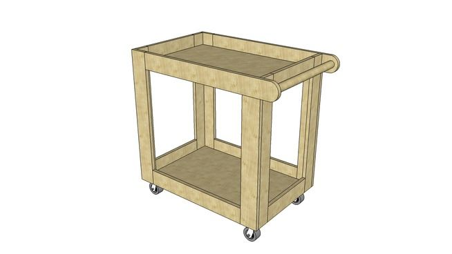 Utility Cart Plan Wooden Cart Wooden Rings Engagement Diy Interior Projects