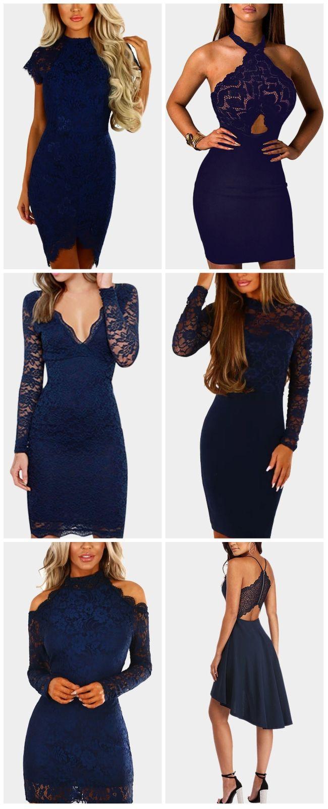 Navy lace party dress styles audrey prom ideas pinterest lace