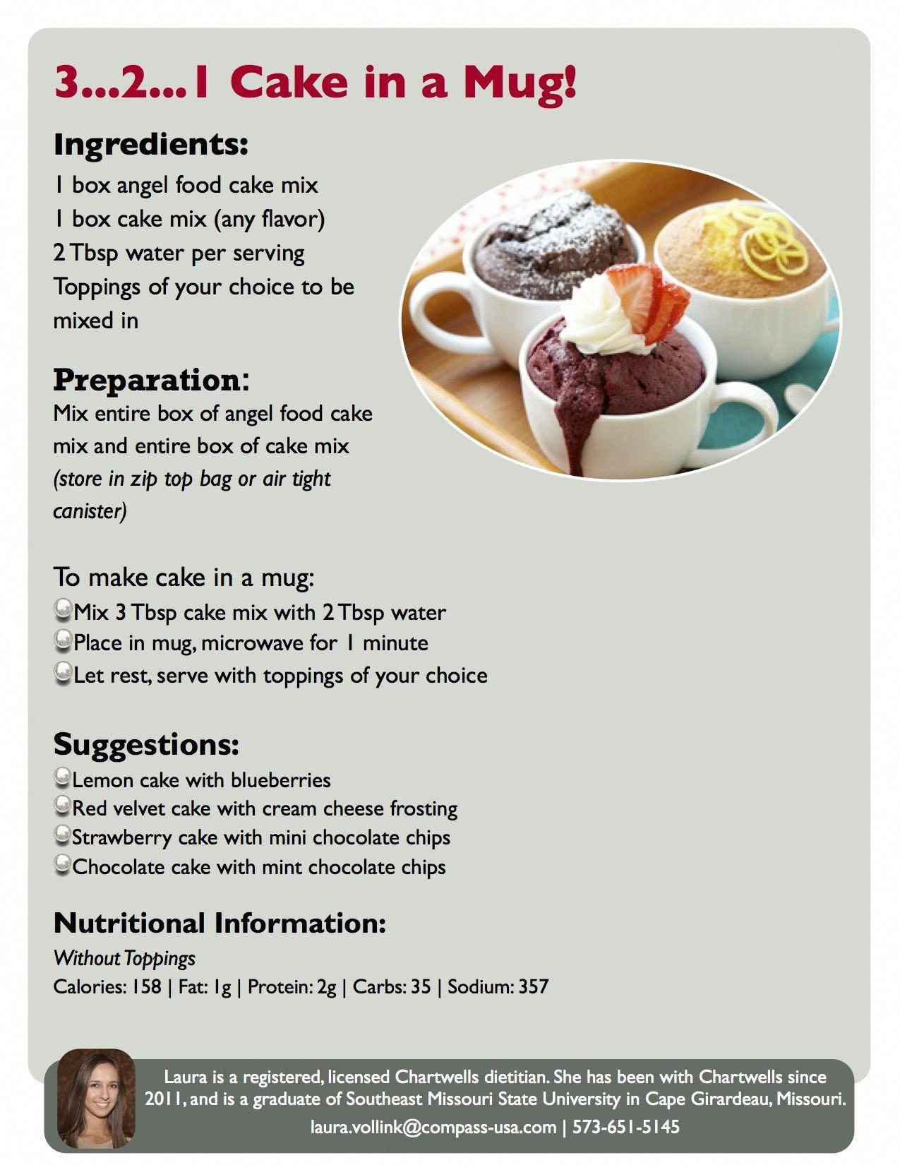 Ww Mug Cake Recipe