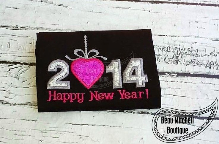 Happy New Year 2014 http://www.beaumitchellboutique.com/shopping/product/happy-new-year-2014/