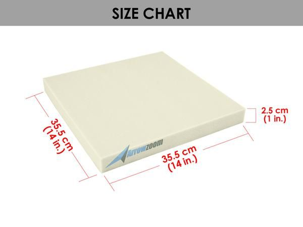 14 X 14 Soft Medium High Density Upholstery Foam Cushion Sheet Seat Replacement With 3 Thickness Padding Kk1137 Upholstery Foam Foam Cushions Marine Upholstery