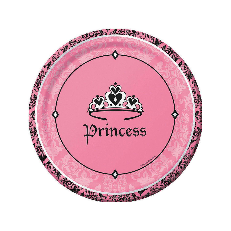 princess theme party Royal Princess lunch plates 8